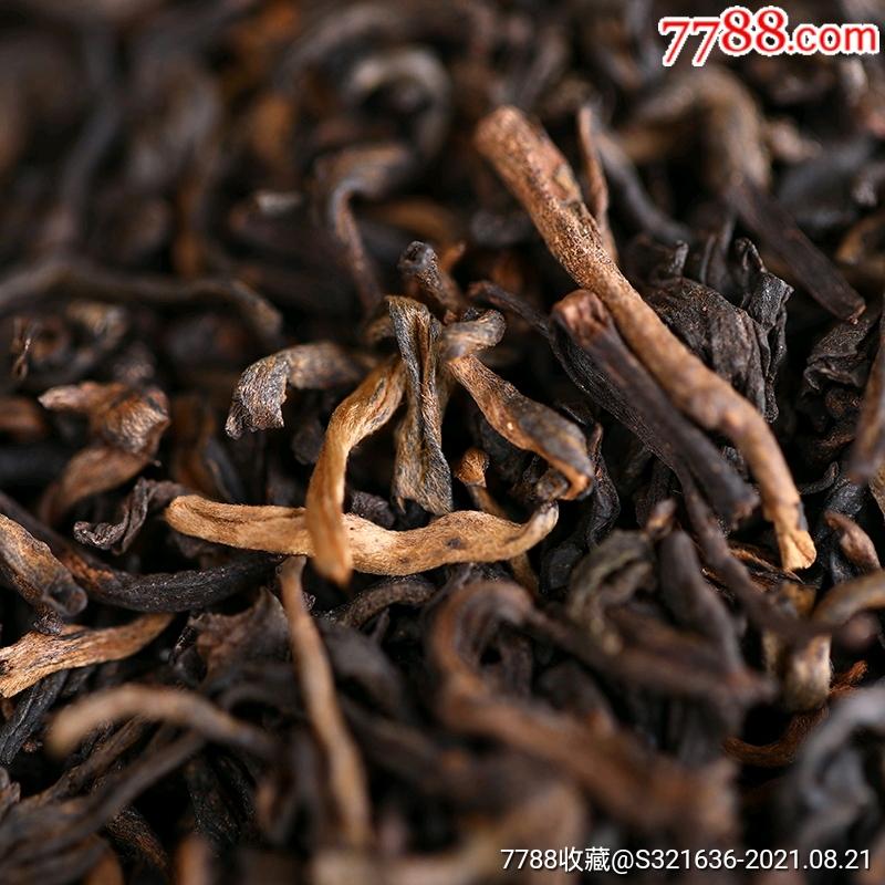 云南老同志普洱茶熟茶散茶2019年三級散茶500g袋裝_價格30元_第4張_