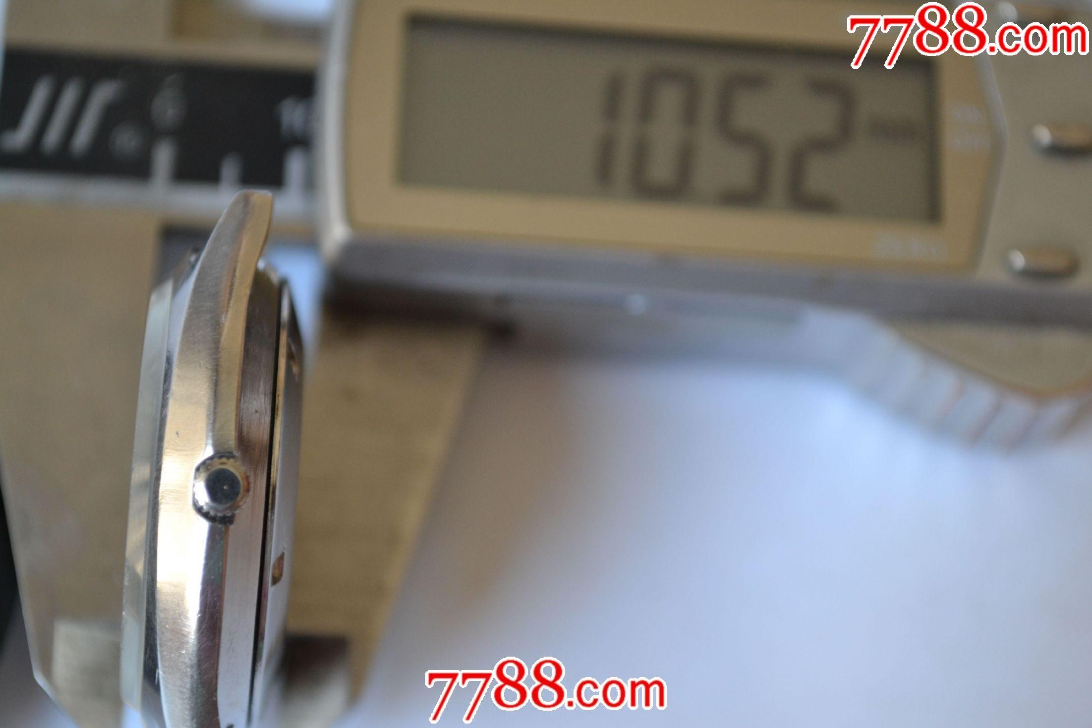 美品日本產理光牌石英男表(9鉆石高檔機芯)_價格109元_第17張_