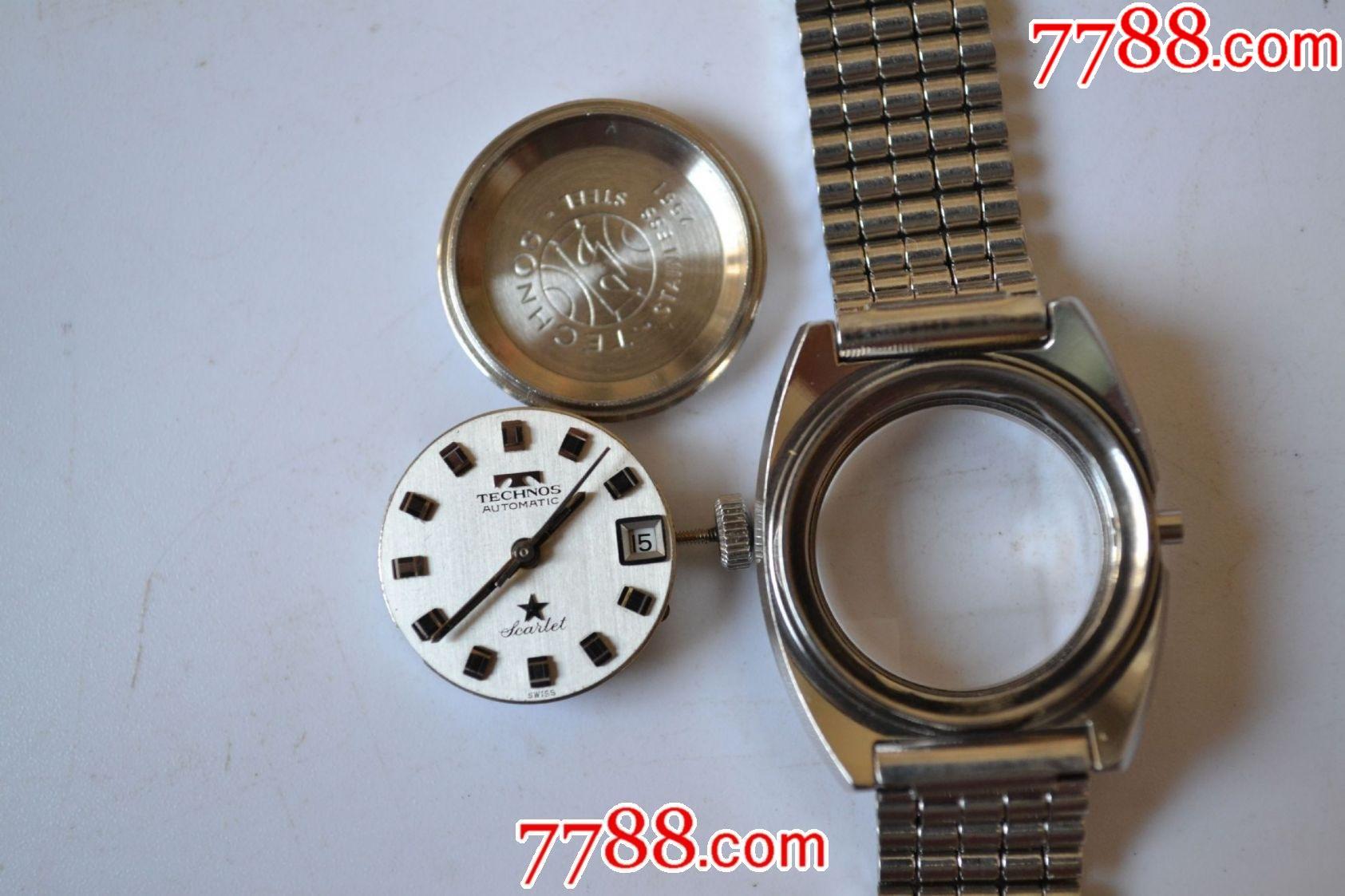 美品瑞士產天克諾牌全自動機械女表(銀肚臍后蓋、eta2551機芯)_價格269元_第10張_