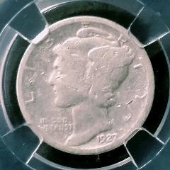 美國–AU55小飛俠銀幣–1927年–年份較少!(zc27514502)_7788收藏__收藏熱線