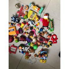 肯德基神奇宝贝,变形蛋,乐天老糖盒,老玩具一堆合拍