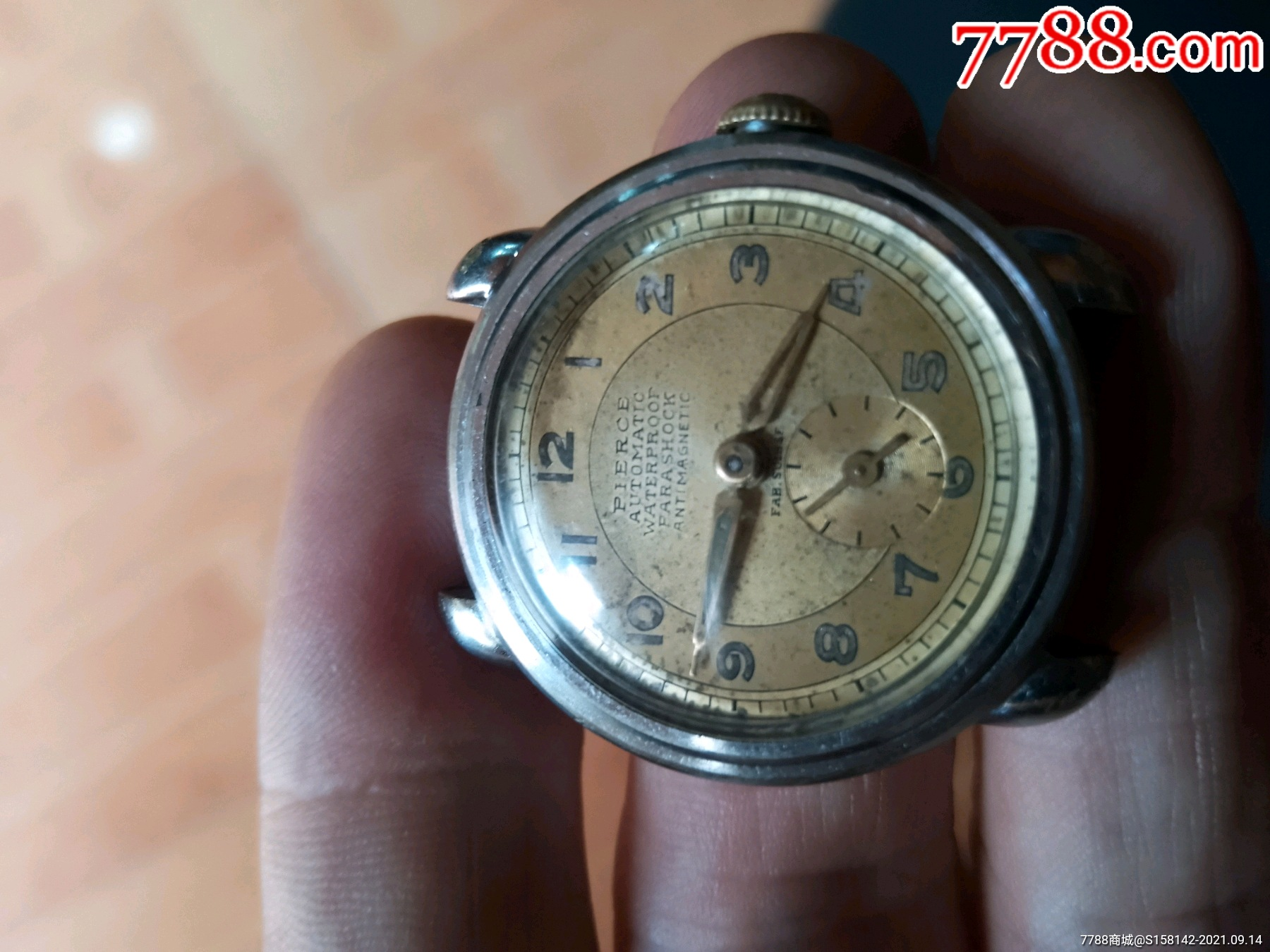 古老的瑞士毫雅专利保护腕表_价格1744元_第1张_