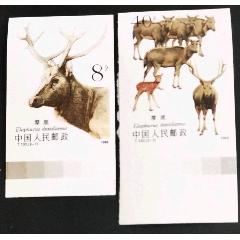 T132《麋鹿》全新无齿邮票(au27771724)_7788收藏__收藏热线