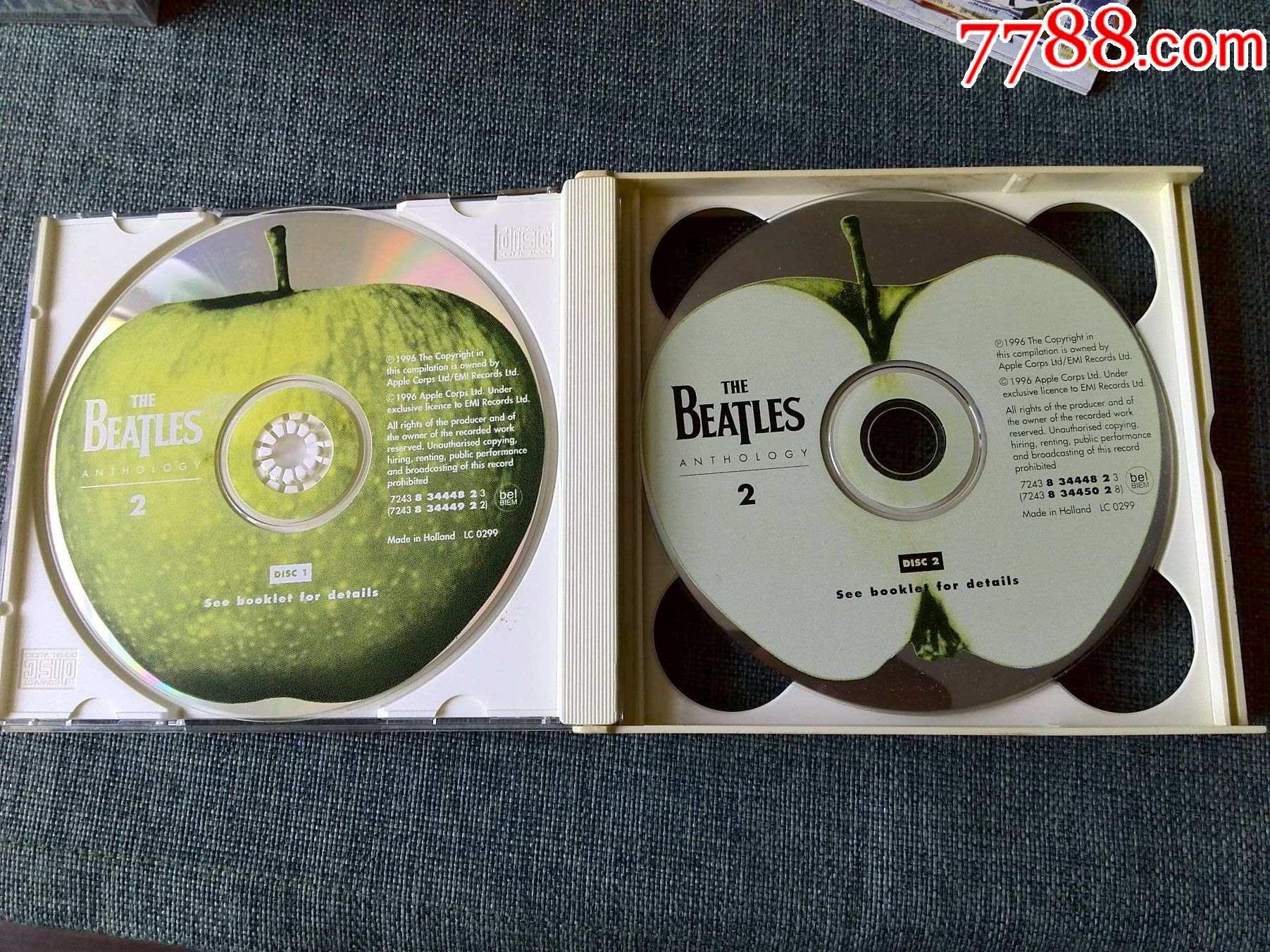 1996年英国百代唱片版,披头士专辑(2)(2CD)_价格155元_第2张_