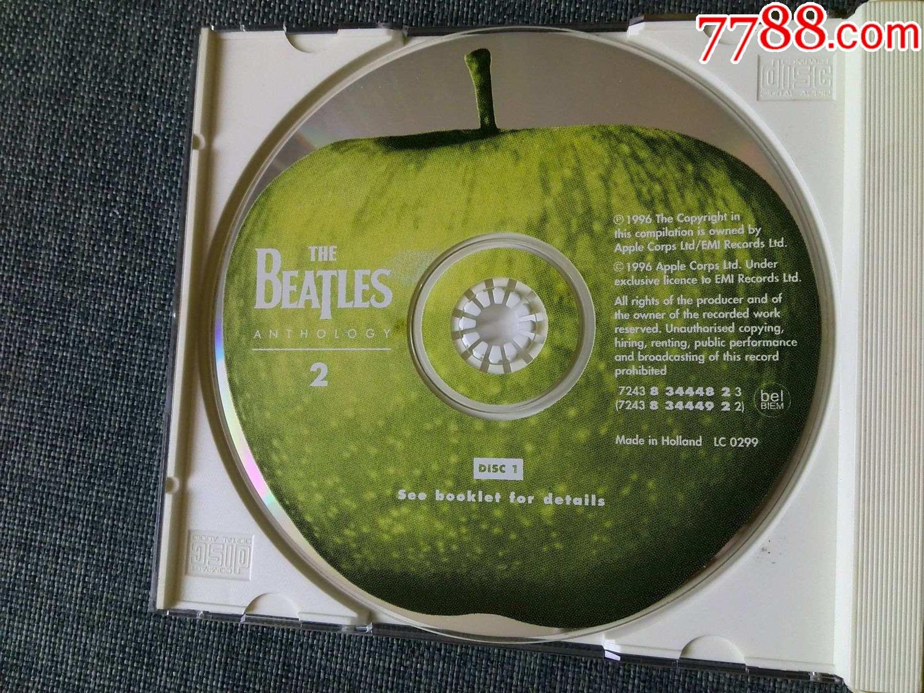 1996年英国百代唱片版,披头士专辑(2)(2CD)_价格155元_第3张_
