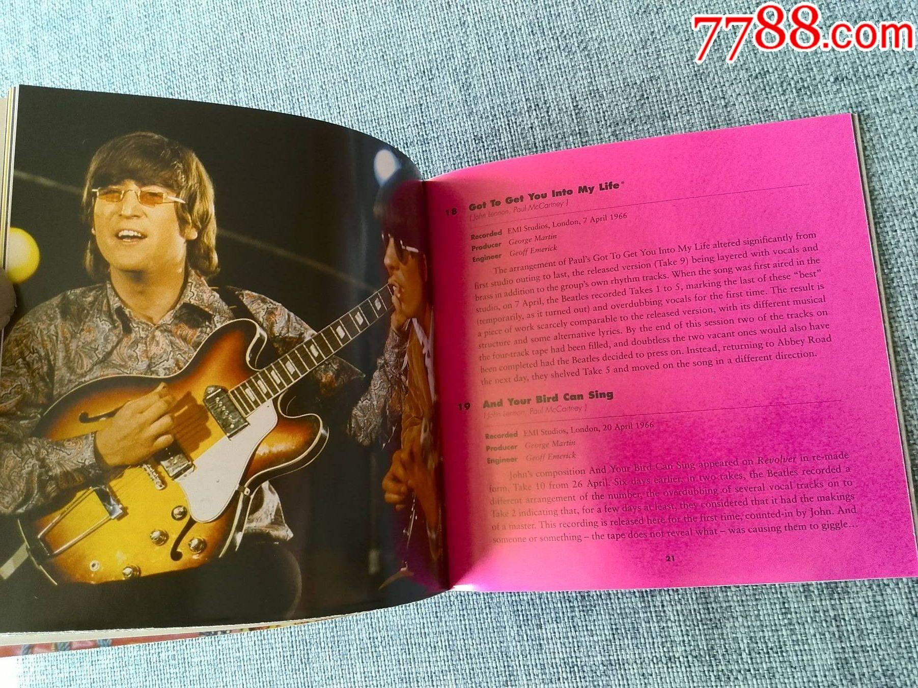 1996年英国百代唱片版,披头士专辑(2)(2CD)_价格155元_第12张_