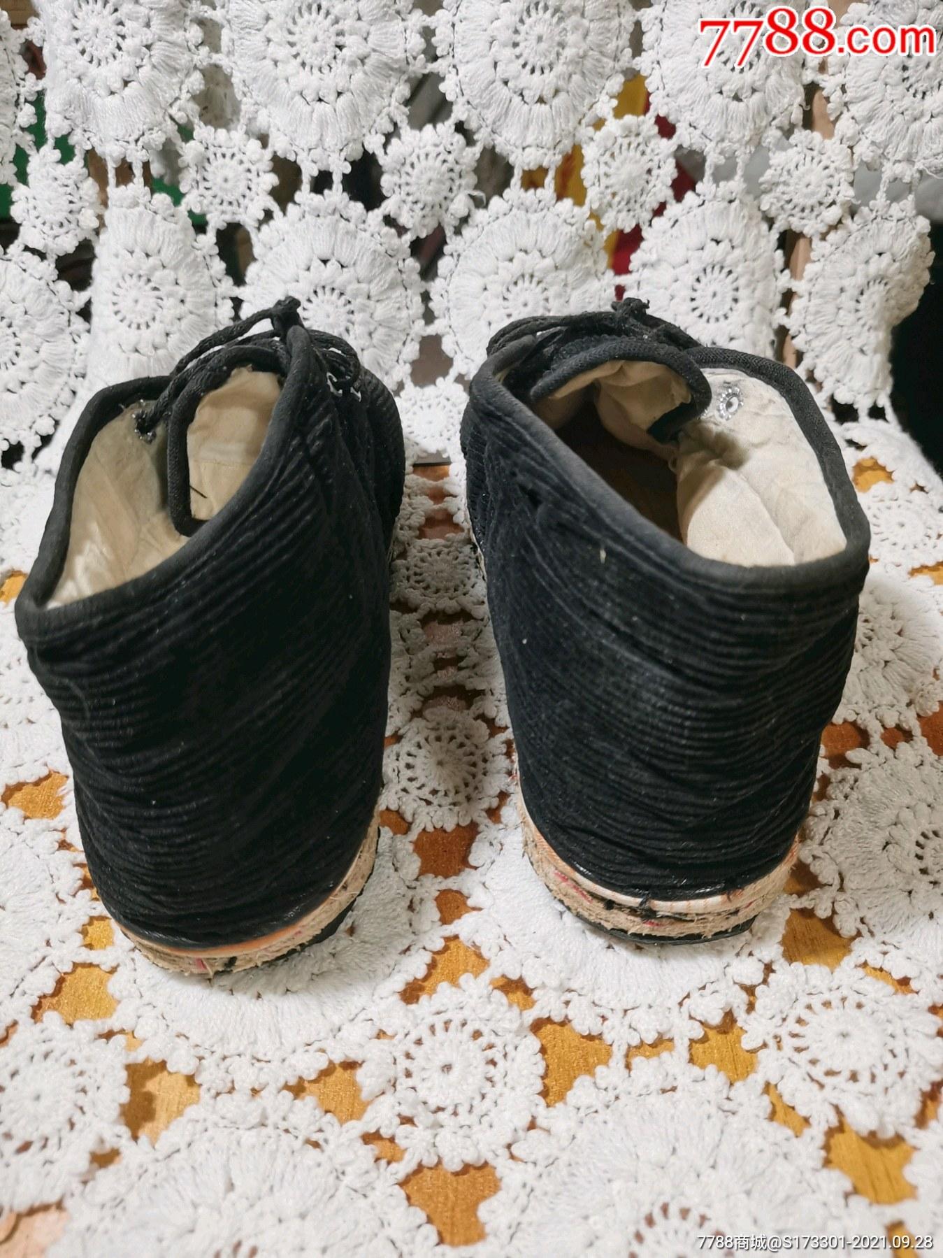 千层底,手工棉鞋,填充厚实_价格28元_第3张_