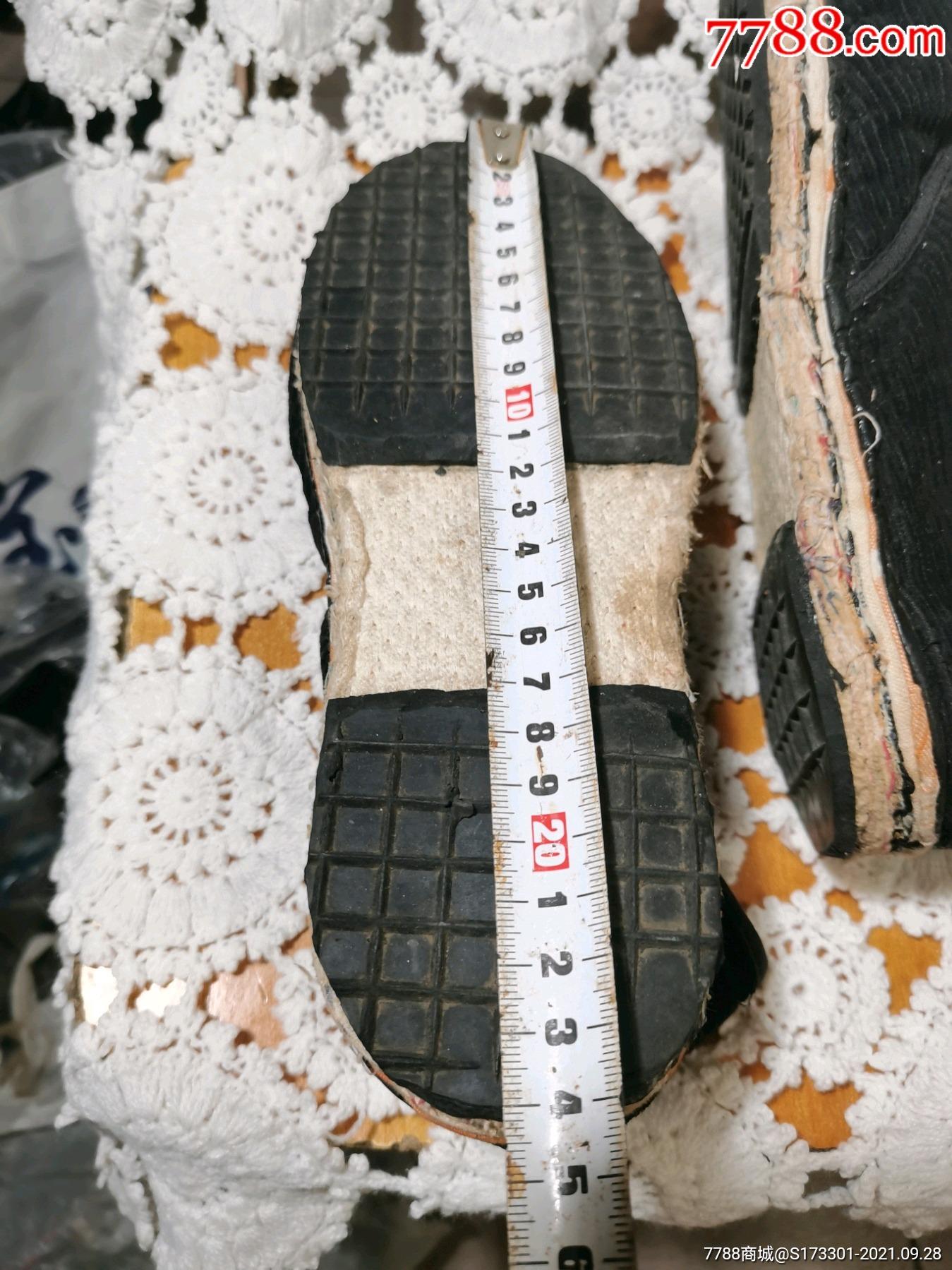 千层底,手工棉鞋,填充厚实_价格28元_第11张_