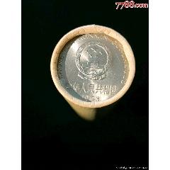 牡丹一元1993年稀有年份整卷50枚送币桶
