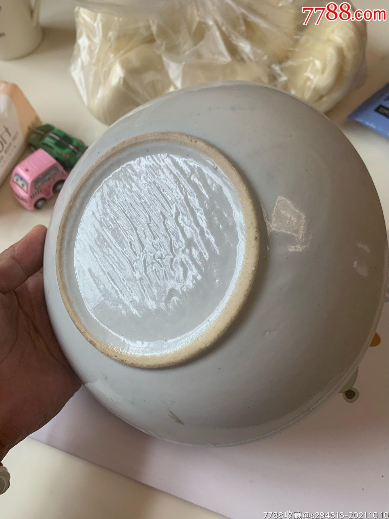 民国时期直径20厘米大号菠萝盘一个,无磕无破完完整整放漏惠让_价格78元_第5张_
