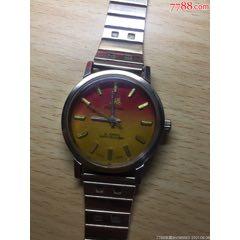 上海手表彩色表盘(正常走)